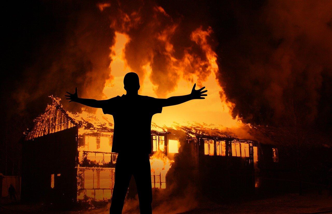 Erstatning etter brann i bolig
