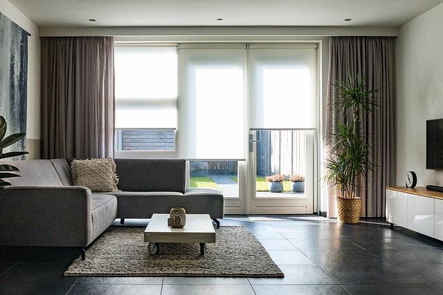 Furniture Couch Blinds Curtains  - Femke_Pax / Pixabay