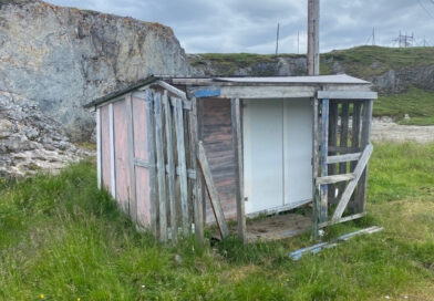 En gammel rønna av en bolig med mangler