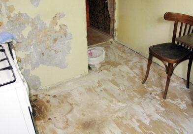 Bilde av et gammelt kjøkken i en leilighet